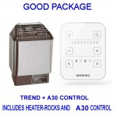 Amerec Sauna Trend and A30 Good package